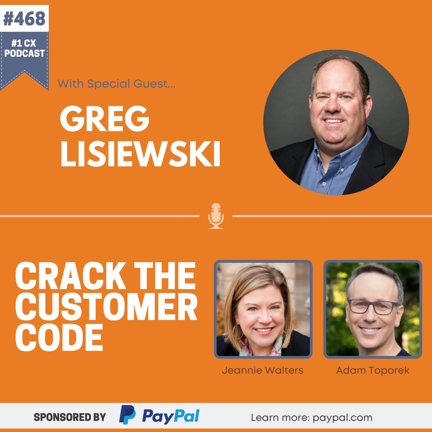 468: Greg Lisiewski