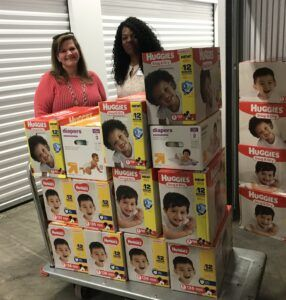 Prince of Peace and Hope4Youth are two of our partners who received diapers.