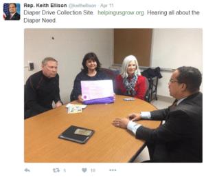 Rep. Ellison Meeting