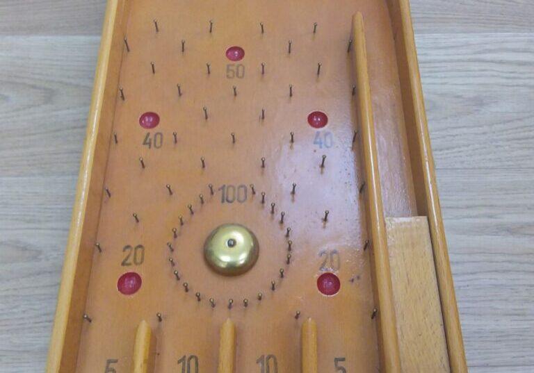Pin ball board