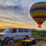 Hot Air Balloon Lift Off