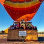 Happy Hot Air Balloon Passengers