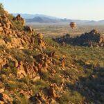 Aerial Hiking Arizona - hot air balloon