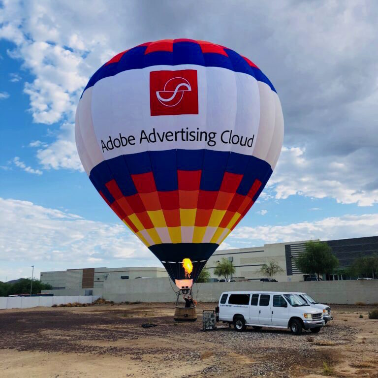 Corporate Hot Air Balloon Banner
