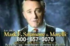 Robert Vaughn lawyer ads & Man from U.N.C.L.E. promo