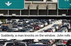 Huge Traffic Jam in Washington, DC