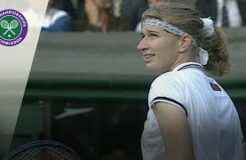 Steffi Graf Answers Marriage Proposal At Wimbledon