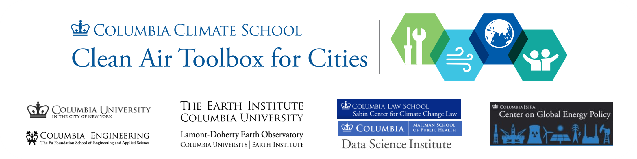 Columbia University Clean Air Toolbox for Cities
