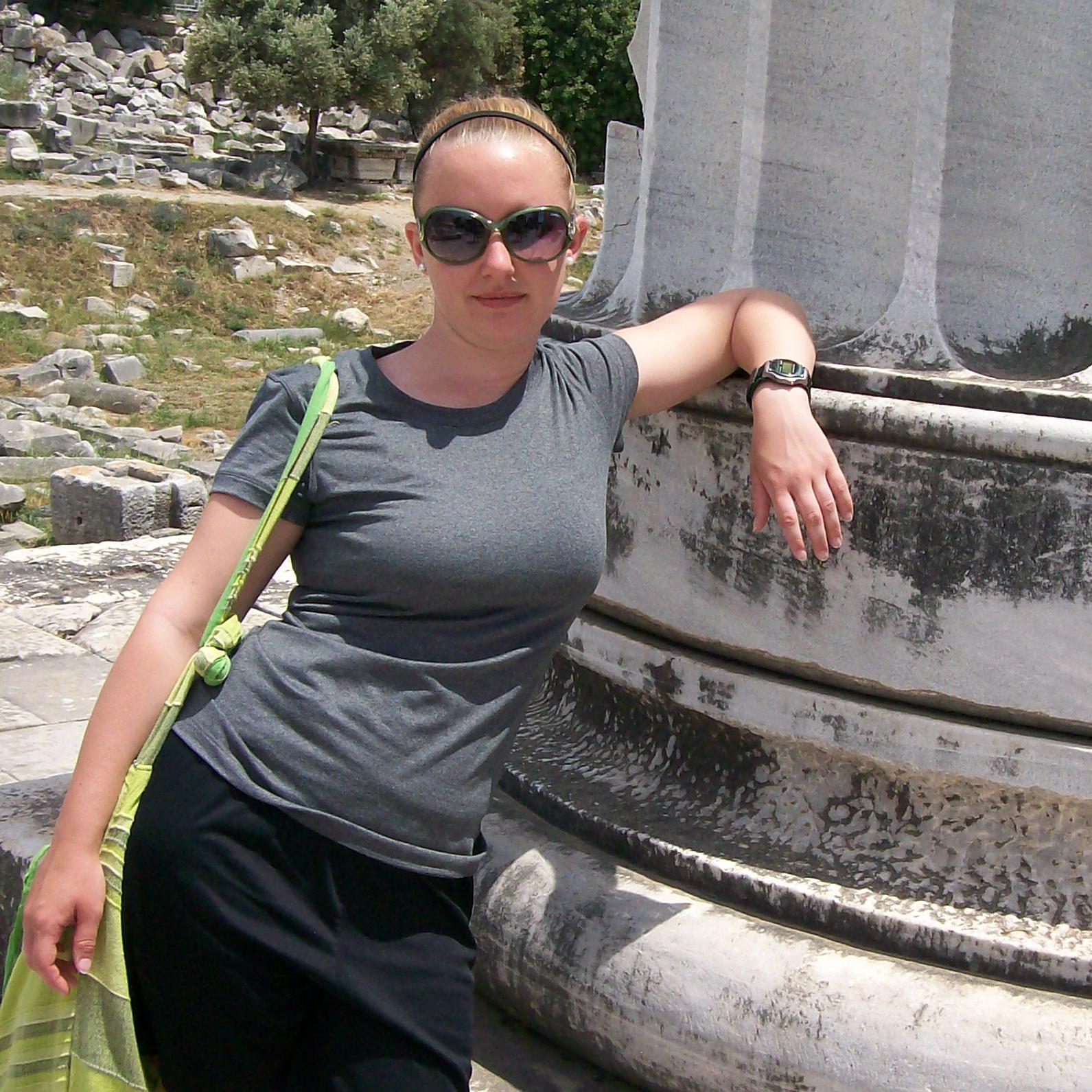 Kirstie K , Designer at My Nerdy Web Guy, Seen at Turkish Ruins