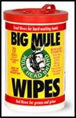 Mule Wipes