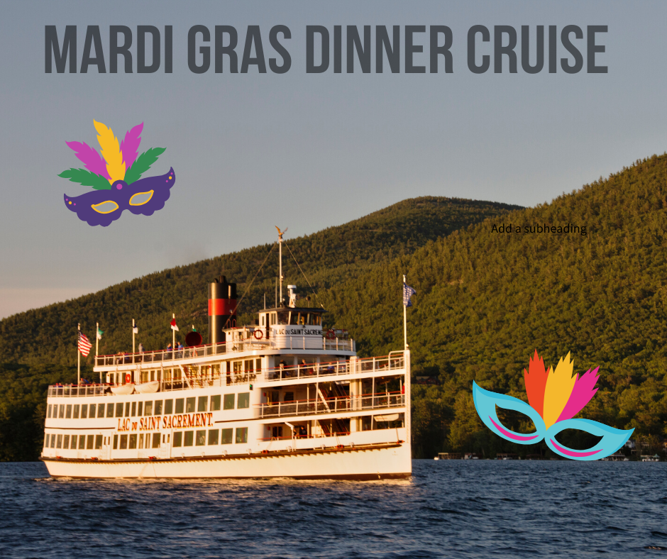 Lake George Steamboat Mardi Gras Dinner Cruise