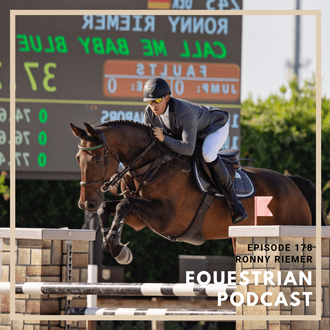 Stepping off the High Horse with Ronny Riemer