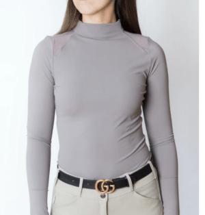 Chloe High Collar Tech Top