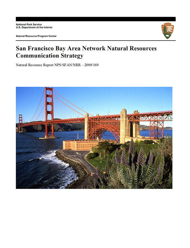 San Francisco Bay Area Network natural resources communication strategy cover page
