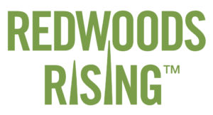 Redwoods Rising logo
