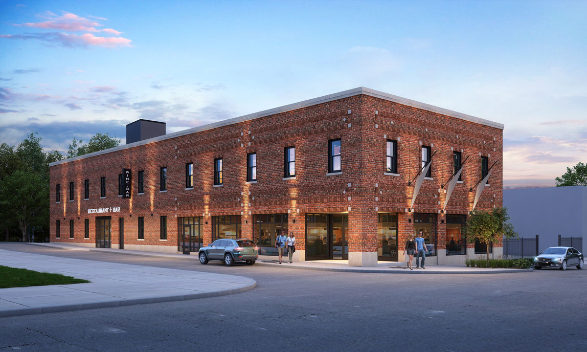 Mixed-use adaptive Reuse in Near Southside