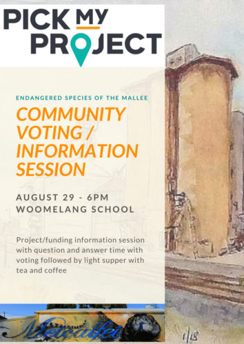 Come and vote for our PickMyProject!