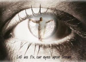 Jesus lamp eye