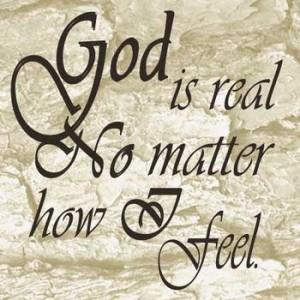 Reality of God