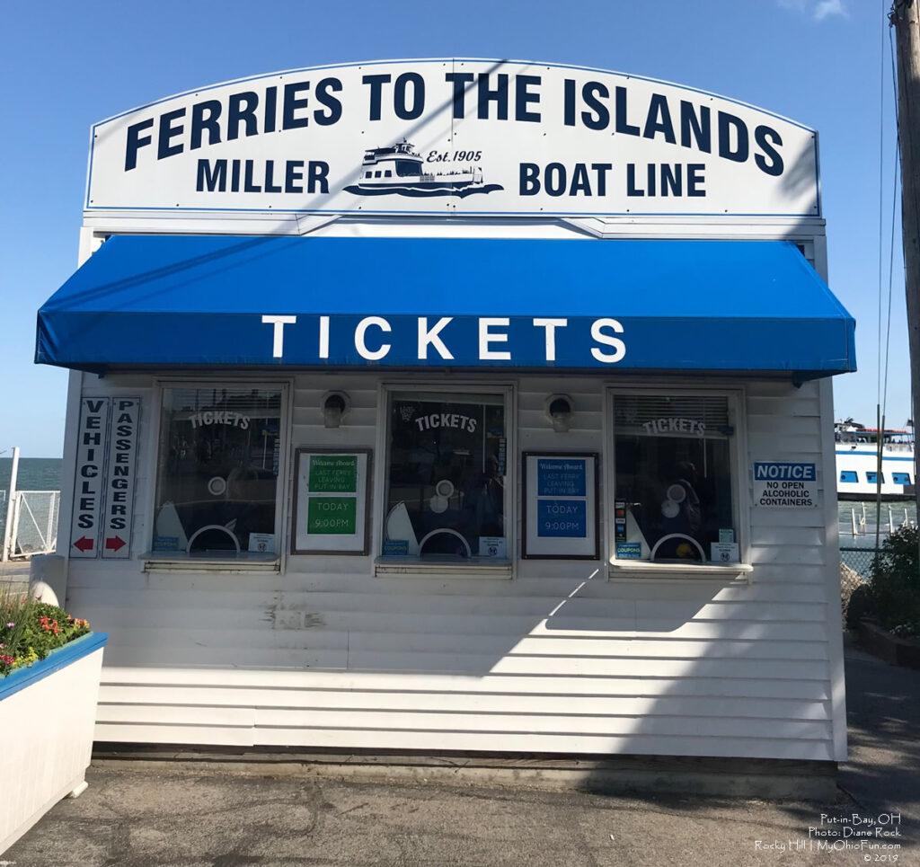 Miller Ferry Ticket Booth Catawaba
