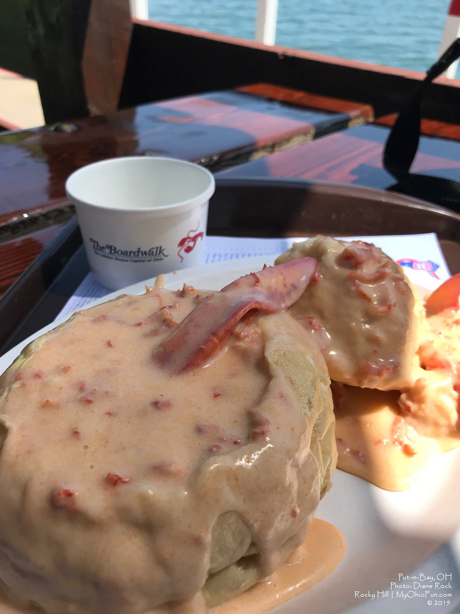 The Board Walk Lobster Bisque Put-in-Bay