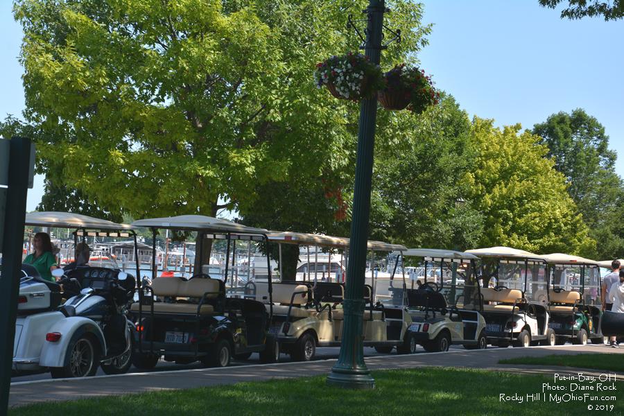 Golf Carts Put-in-Bay