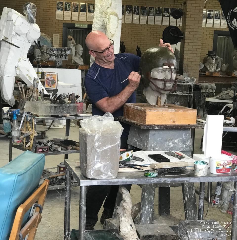 Alan Cottrills Studio Zanesville Ohio