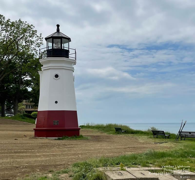 Vermilion Lighthouse | Photo: D. Rock- MyOhioFun.com