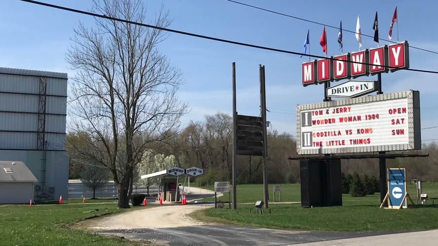 Midway Twin Drive In Ravenna