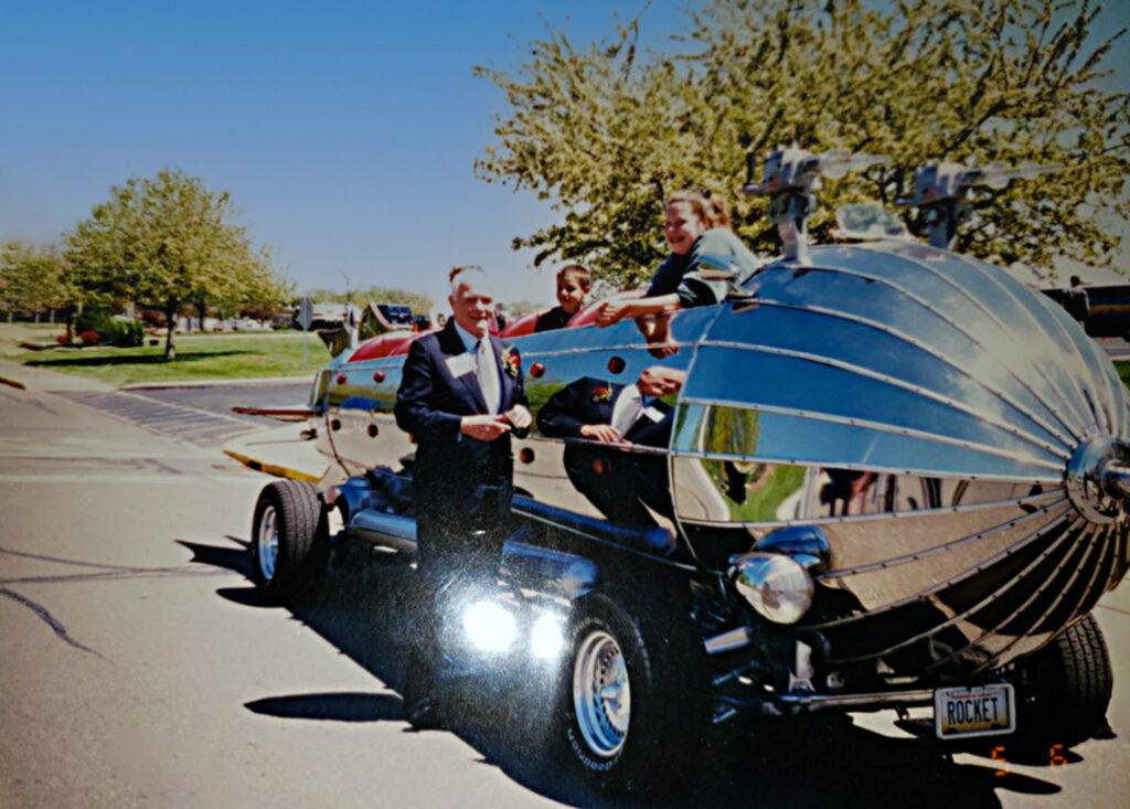 Rocket Car John Glenn