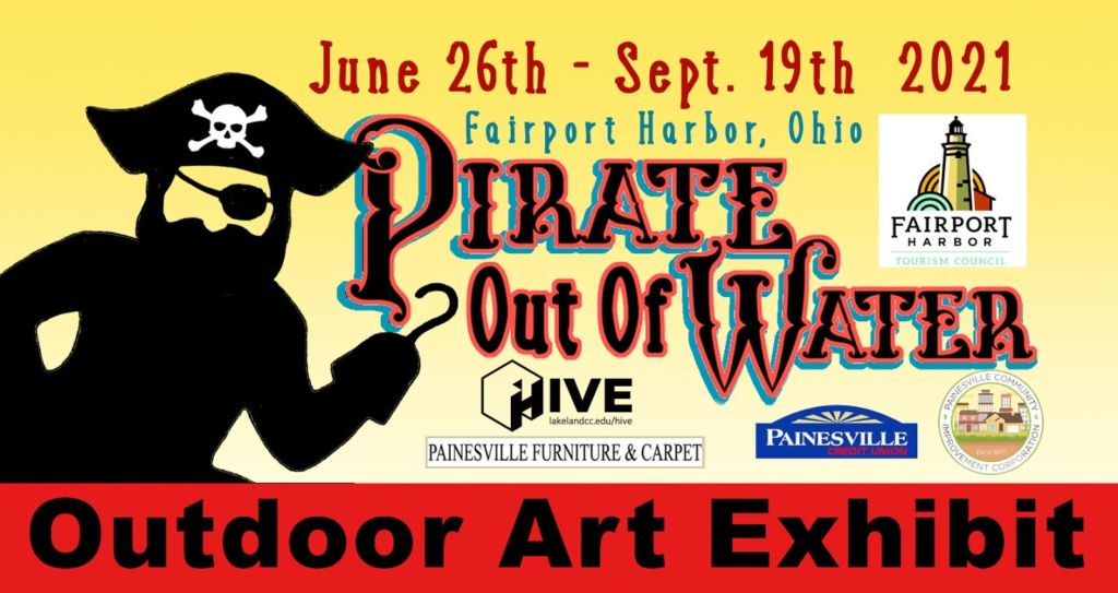 Pirate out of Water Fairport Harbor