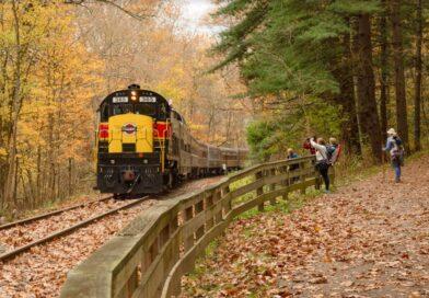Celebrate Fall on Ohio's Rails