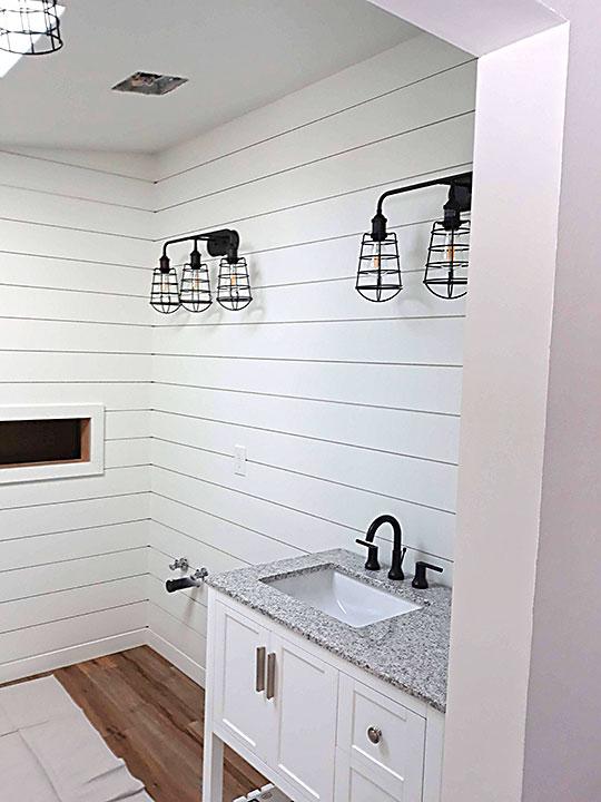 Bathroom Remodel Sink & Cabinets