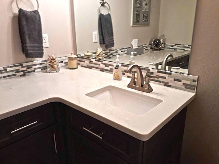 Bathroom Remodel Dark Cabinets