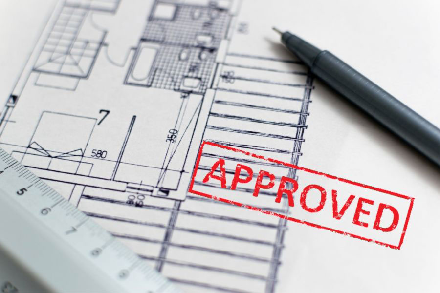 Approved Floor Plan Construction Blueprints