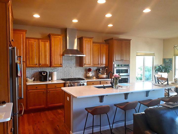 Kitchen Remodel Oak Cabinets