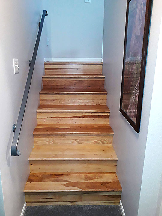 Stair Case and Railing