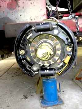 image of brakes inspected