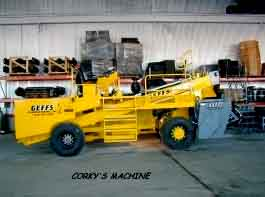 image of corkys used chip spreader