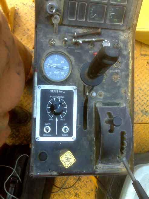 geffs chip spreader control system
