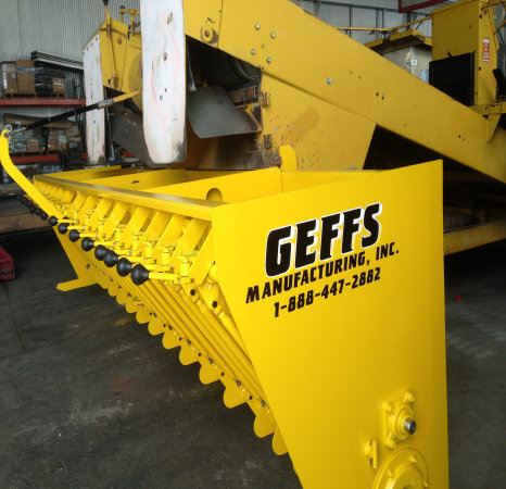 image of replacement fixed chip spreader hopper