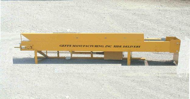 image of GEFFS side delivery strike off blade