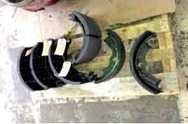 image of rockwell brake shoes