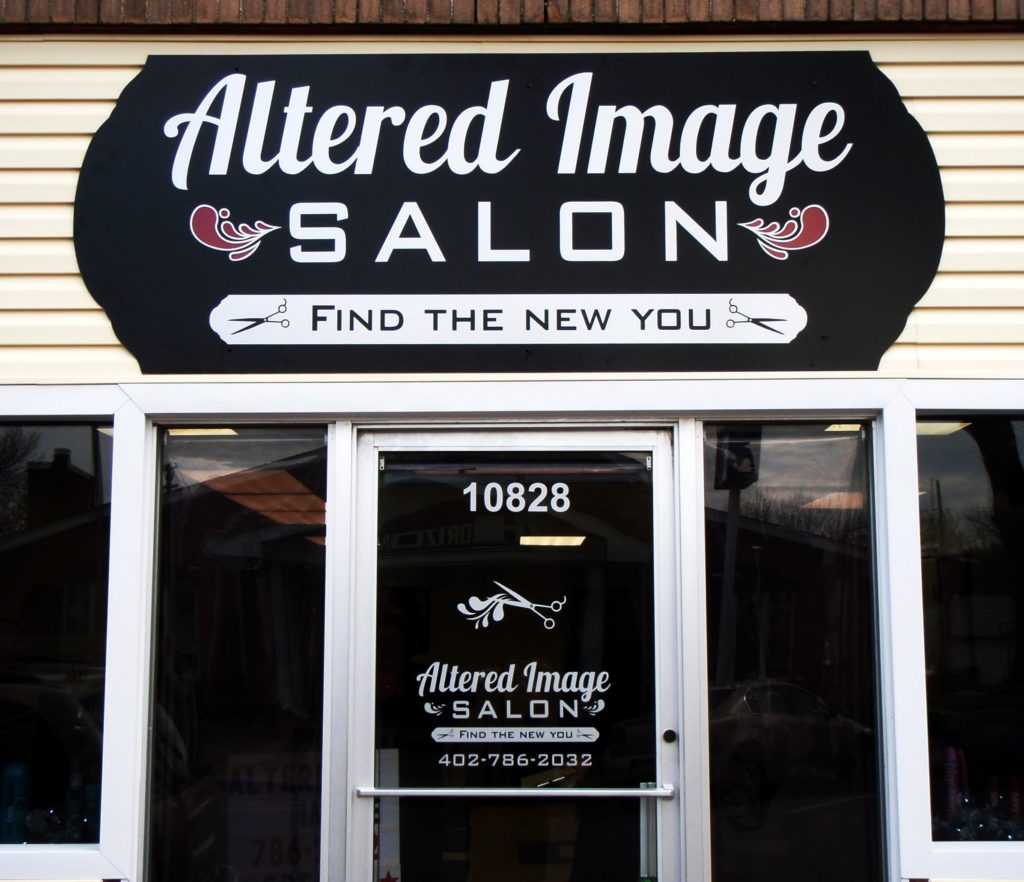 Beauty Salon Store Front