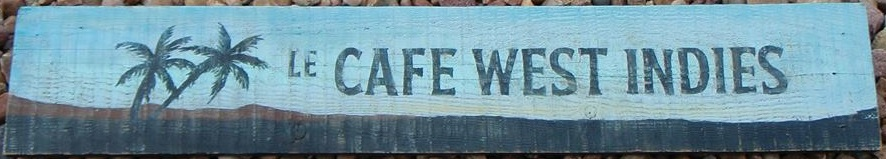 Hand Painted Sign On Wood