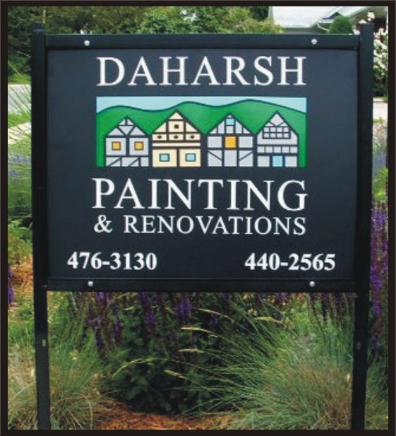 Contractor's Yard sign