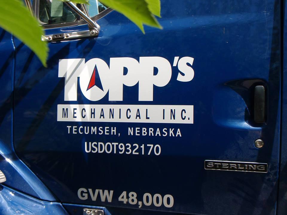 Topp's Vehicle Graphic