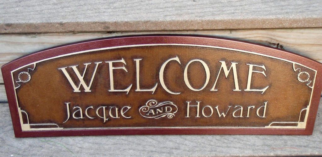 Specialty Hand-Carved Custom Sign