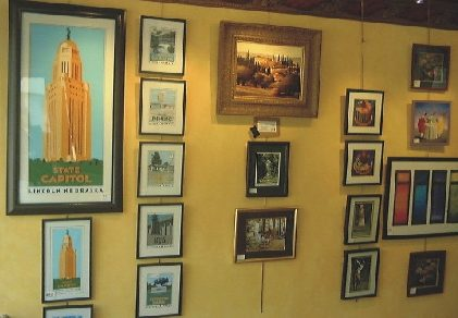 Gallery Wall featuring Bill Shaffer's State Capitol