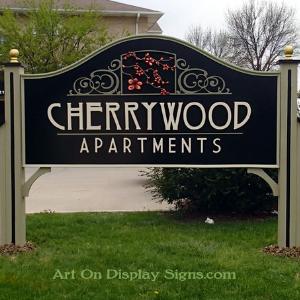 Cherrywood Apartment Monument Sign